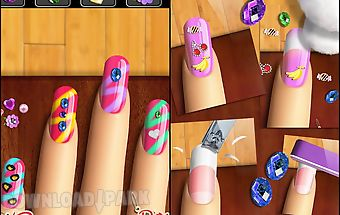 Nail games™ girls makeover app