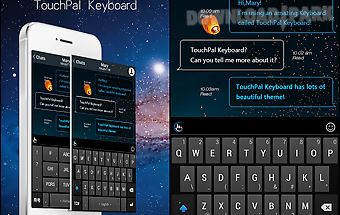 Touchpal cool v5 emoji theme