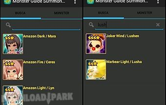 Monster guide summoners war