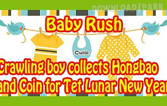 Baby rush - crawling kid collect..
