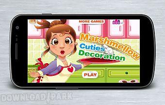 Decoration marshmallow