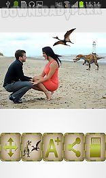 dinosaur photo booth
