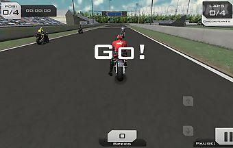 Explosion moto gp