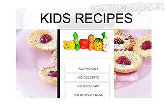 Kids recipes food
