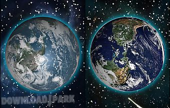Moving earth 3d