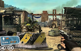 Terrorist hunt-sniper shooting