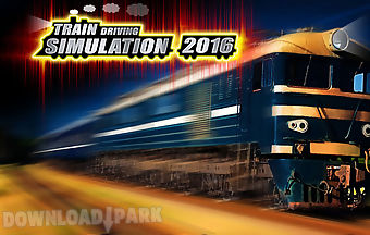 Train driving simulator 2016