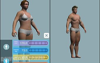 Bmi 3d - body mass index in 3d