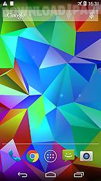 crystal 3d live wallpaper