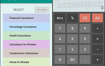 Everyday calculator all-in-one