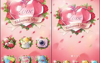 Love story go launcher theme