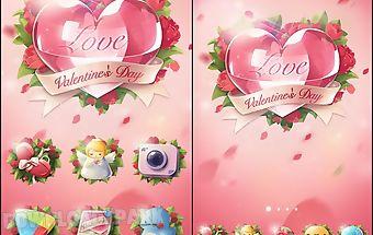 Love story go launcher theme