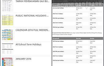 Malaysia calendar lunar 2017