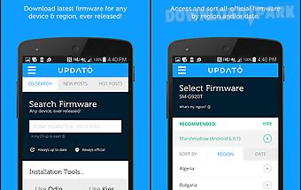 Updates for samsung & android