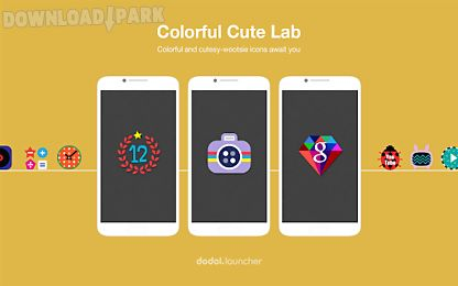 colorfullab linelauncher theme