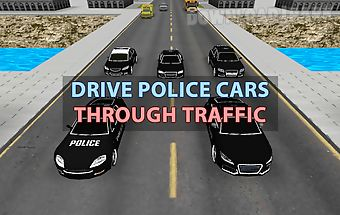 Police car racer