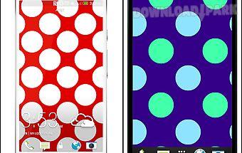 Polka dots live wallpaper free