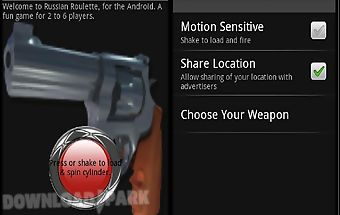 Russian roulette for android