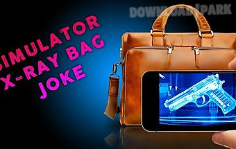 Simulator x-ray bag joke