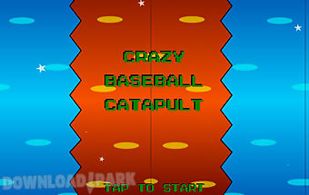 Crazy baseball catapult