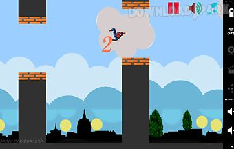 Flapy spiderman