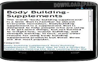Free bodybuilding supplement rev..