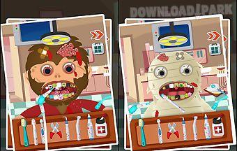 Monster dental clinic for kids