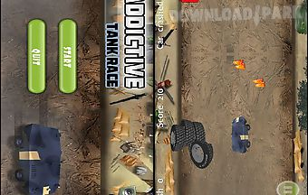 Addictive tank race gold