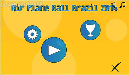 airplane ball brazil 2014