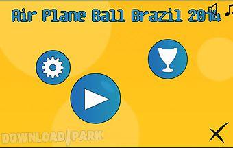 Airplane ball brazil 2014