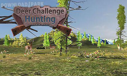 deer challenge hunting: safari