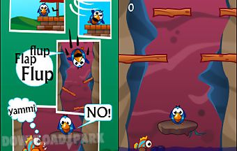Fluffy bird vs flappy fish