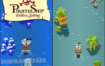 Pirate ship: endless sailing