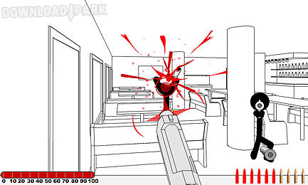 stickman gunfire ii