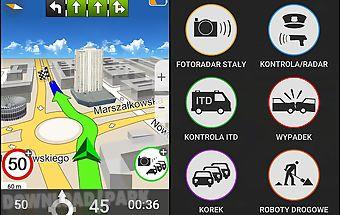 Navigation mapamap poland