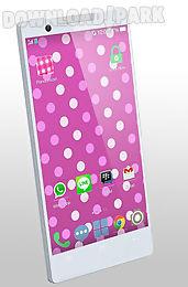 polka dots live wallpaper
