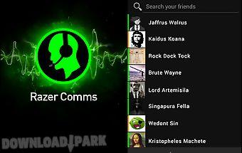Razer comms - gaming messenger