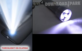Torchlight on clapping