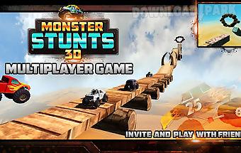 3d monster stunts