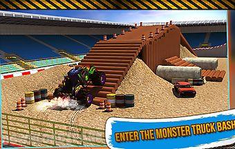 4x4 monster truck stunts 3d