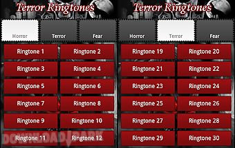 Sounds scary. ringtones terror