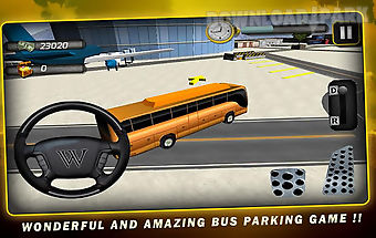 Airport bus parkingsimulator