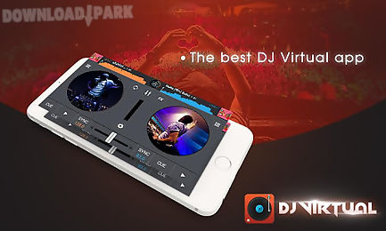 dj mixer player with my music