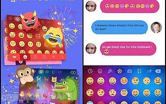 Emoji one kika keyboard plugin