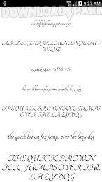 fonts for flipfont 50 #4