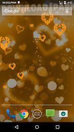 glow heart live wallpaper