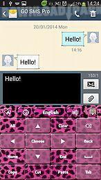 pink feline keyboard