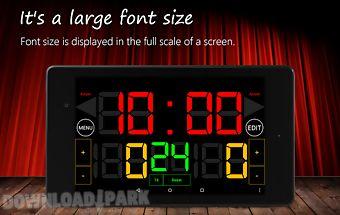 Scoreboard basketball