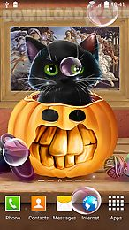 cute halloween live wallpaper