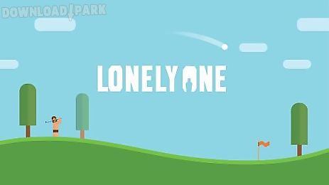 lonely one: hole-in-one